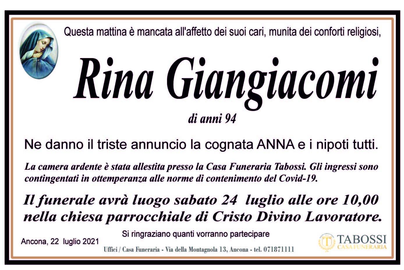 Rina Giangiacomi
