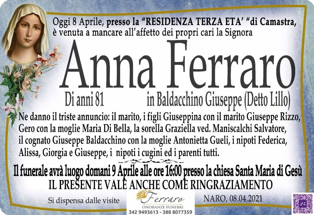Anna Ferraro
