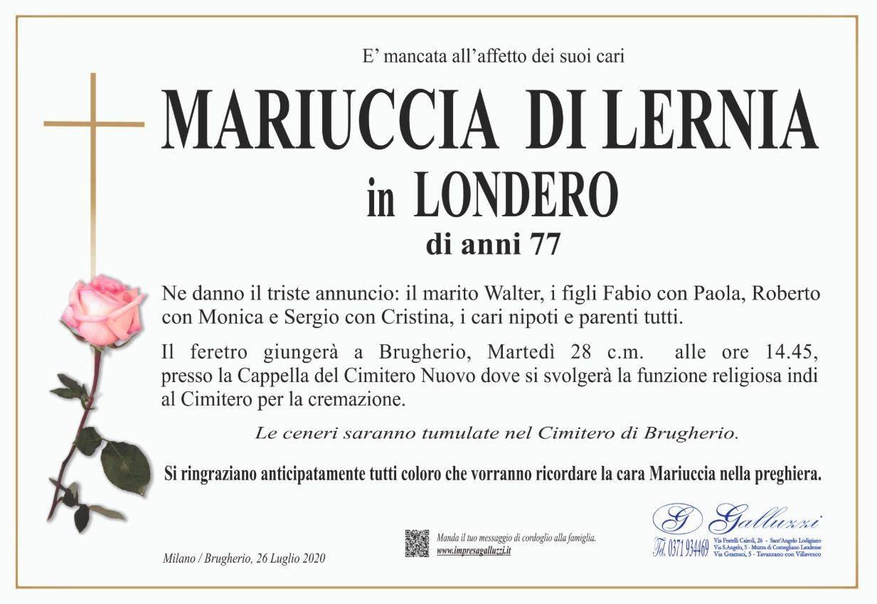Mariuccia Di Lernia
