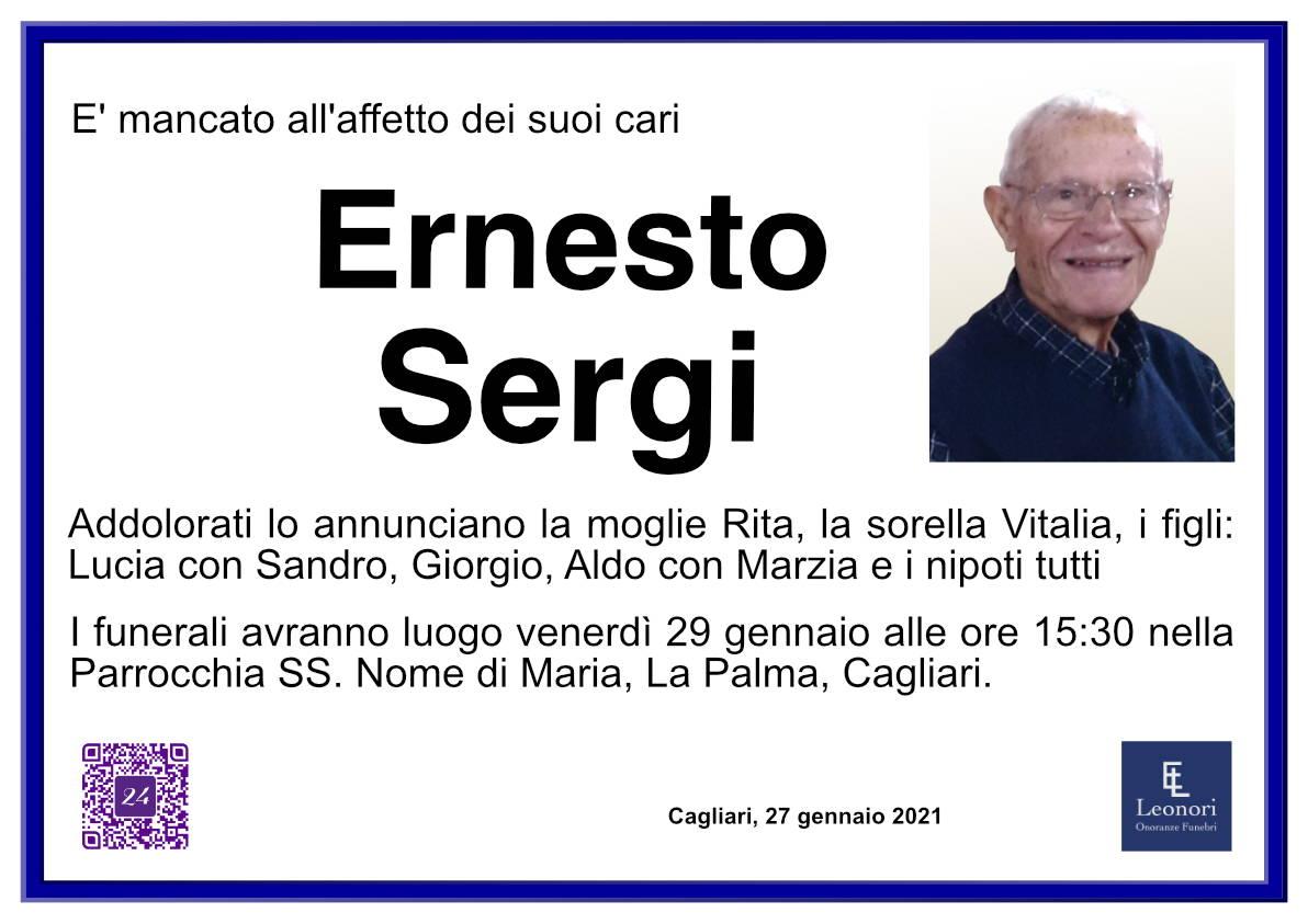 Ernesto Sergi