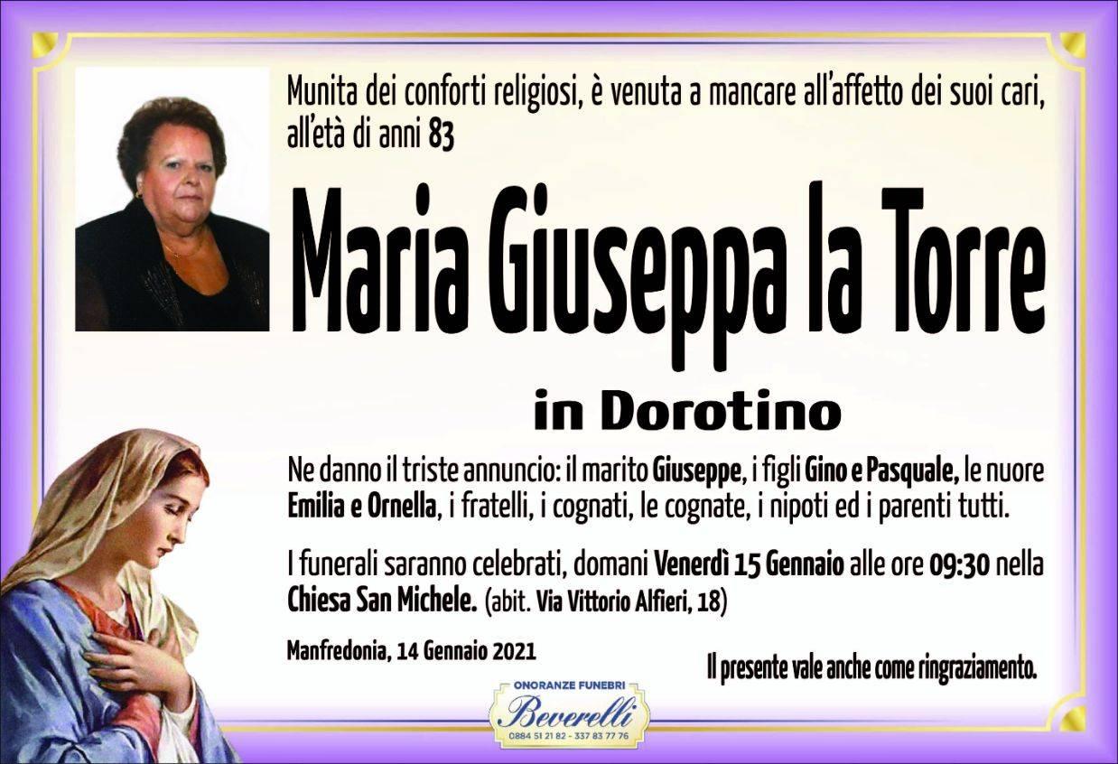 Maria Giuseppa La Torre