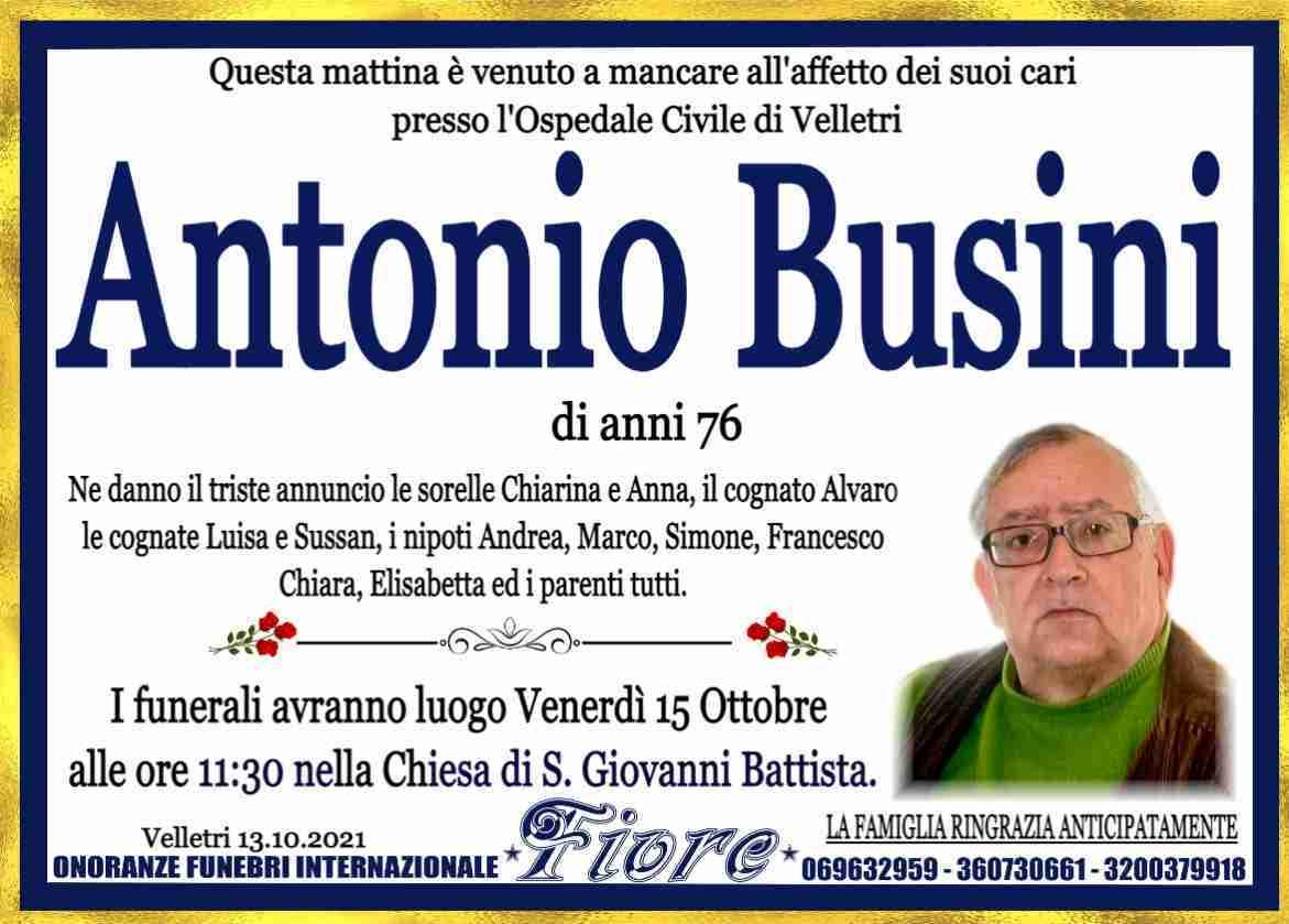 Antonio Busini