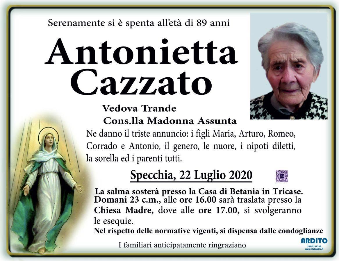 Antonietta Cazzato