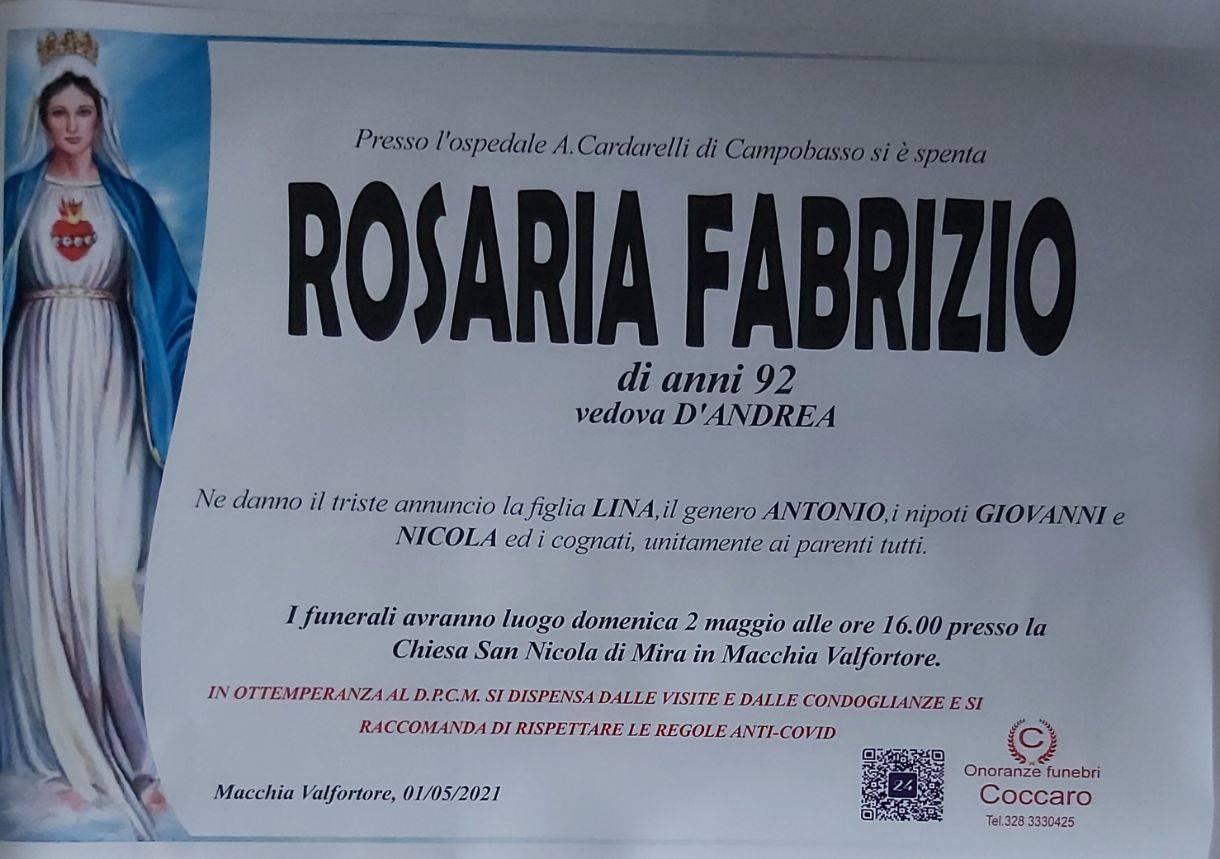 Rosaria Fabrizio