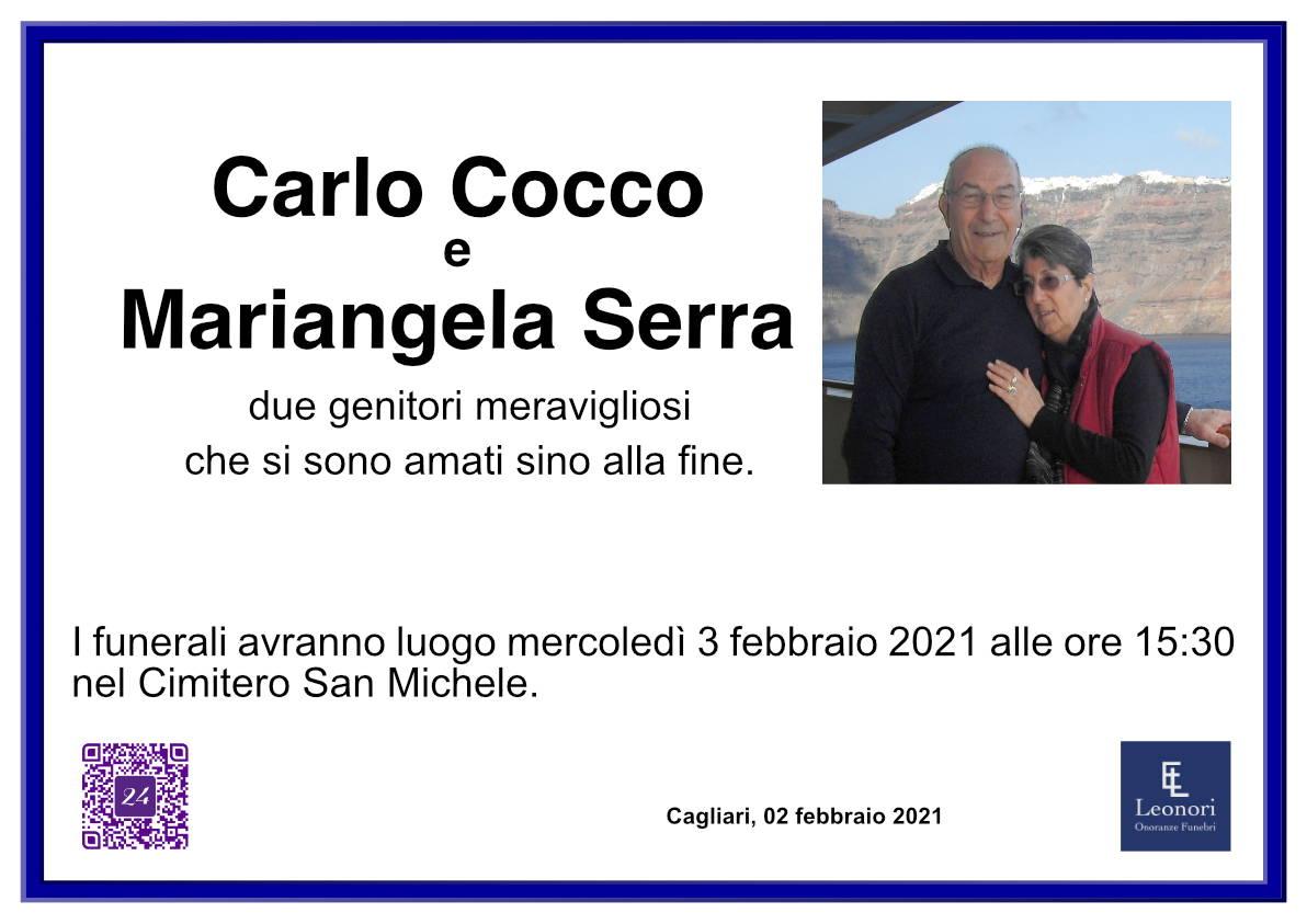 Carlo Cocco e Mariangela Serra