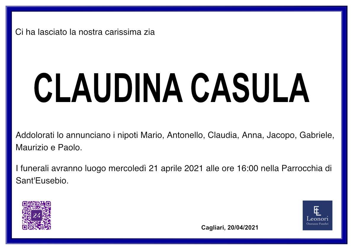Claudina Casula