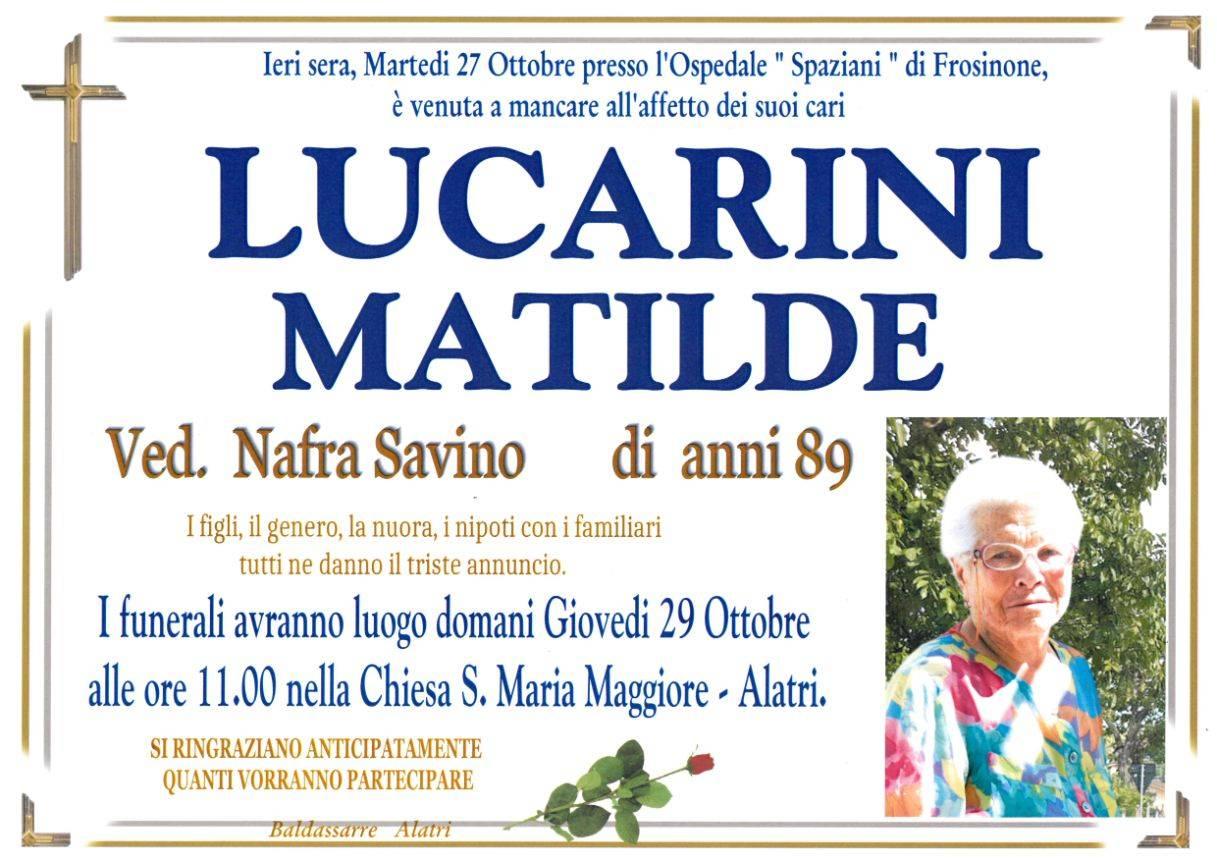 Matilde Lucarini
