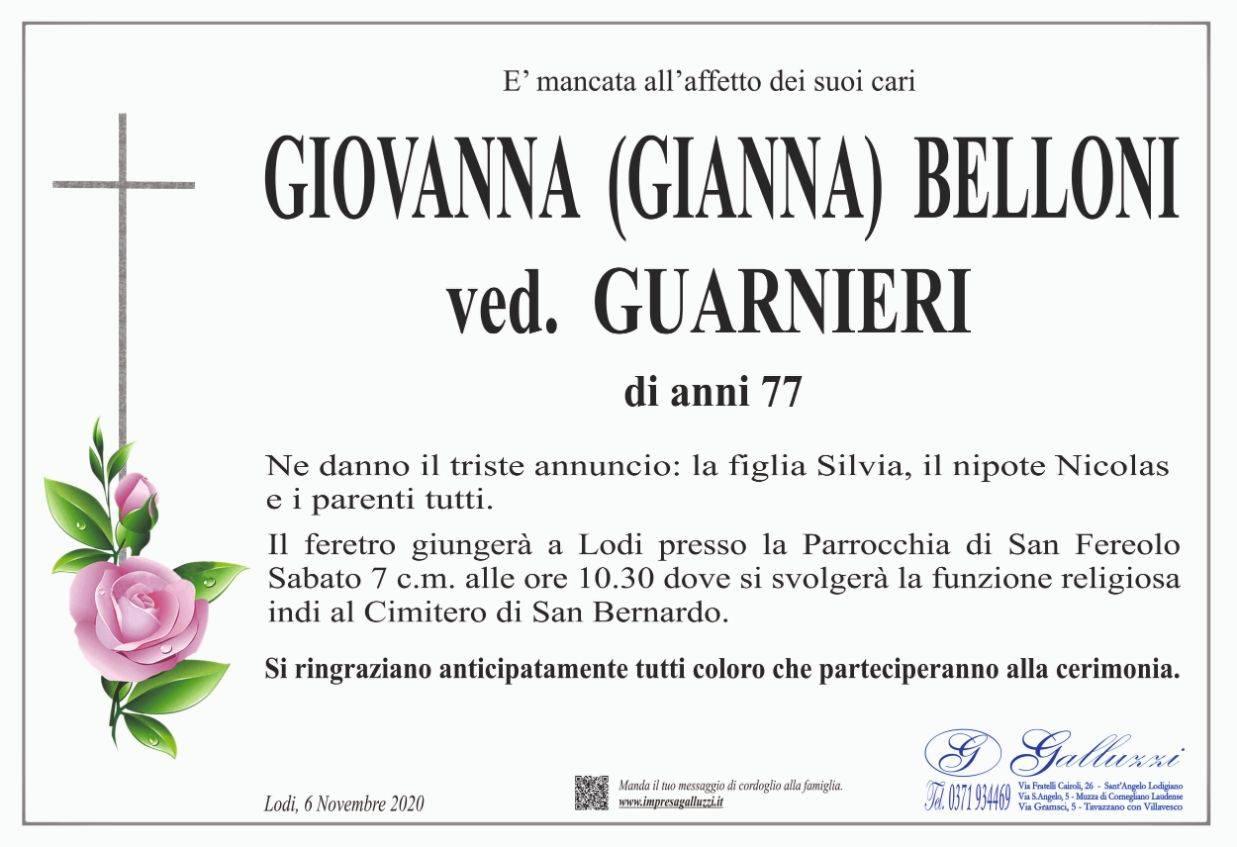 Giovanna Belloni