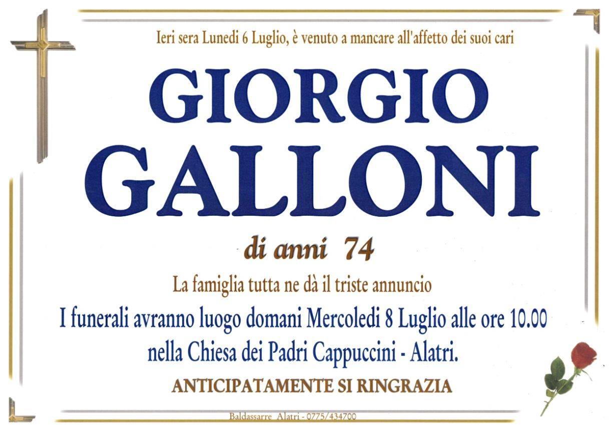Giorgio Galloni