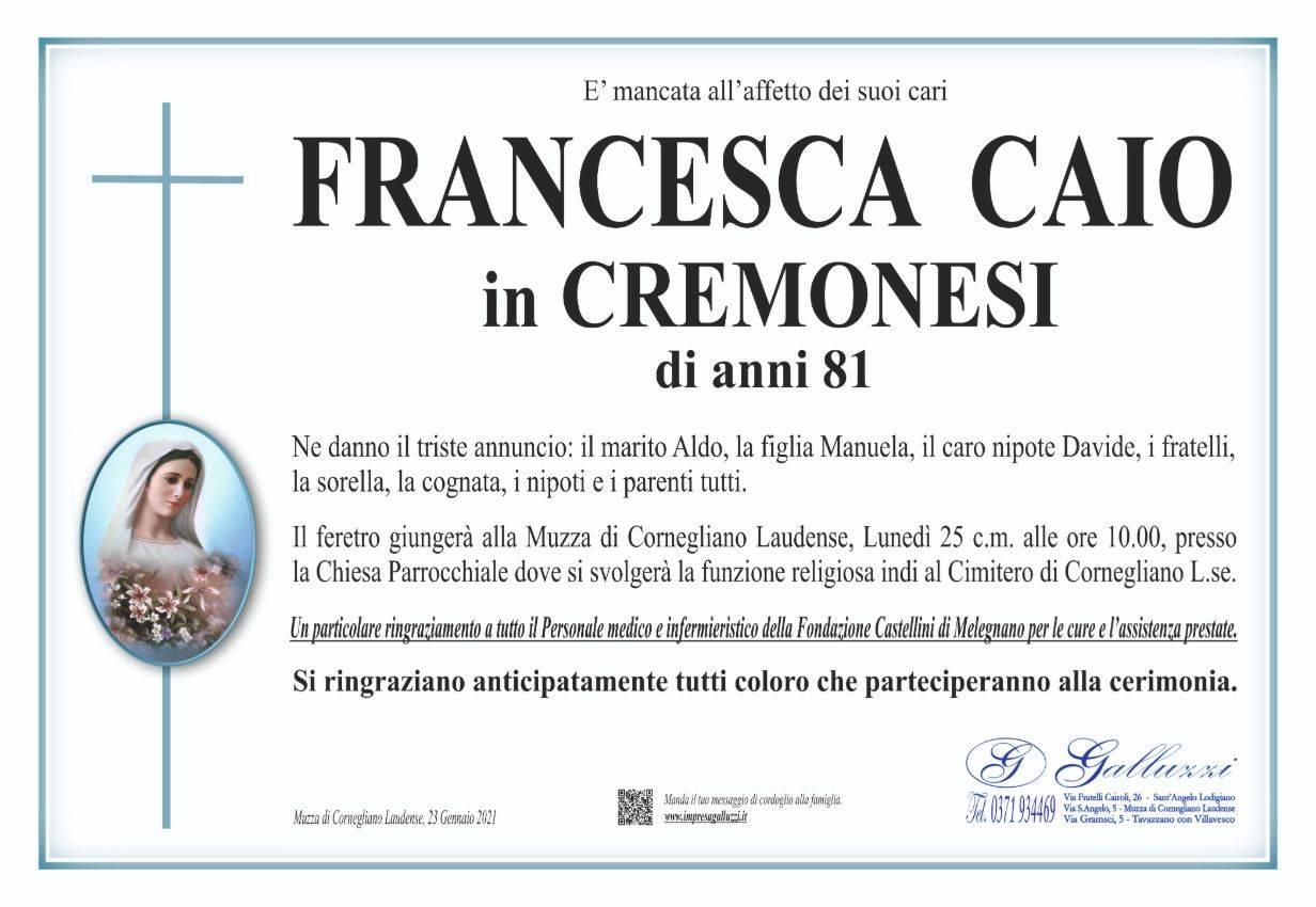 Francesca Caio