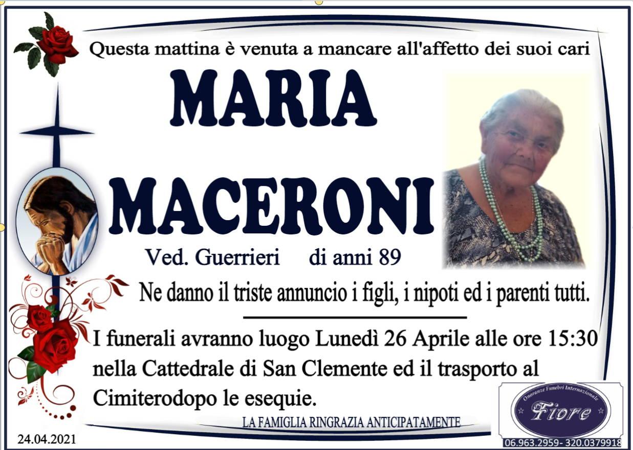 Maria Maceroni