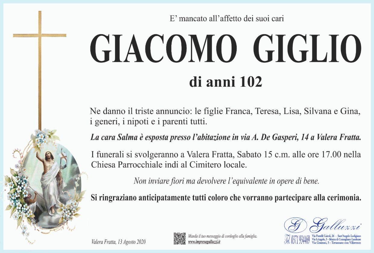 Giacomo Giglio