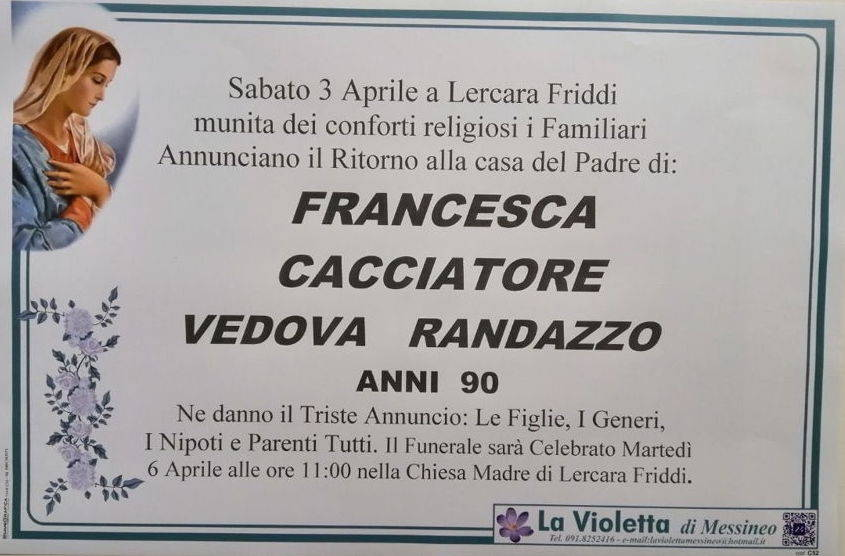 Francesca Cacciatore