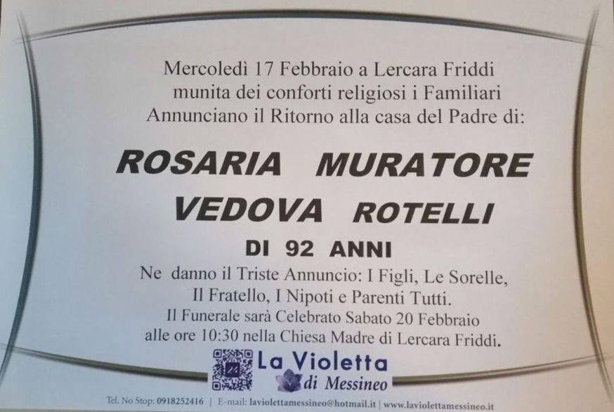 Rosaria Muratore