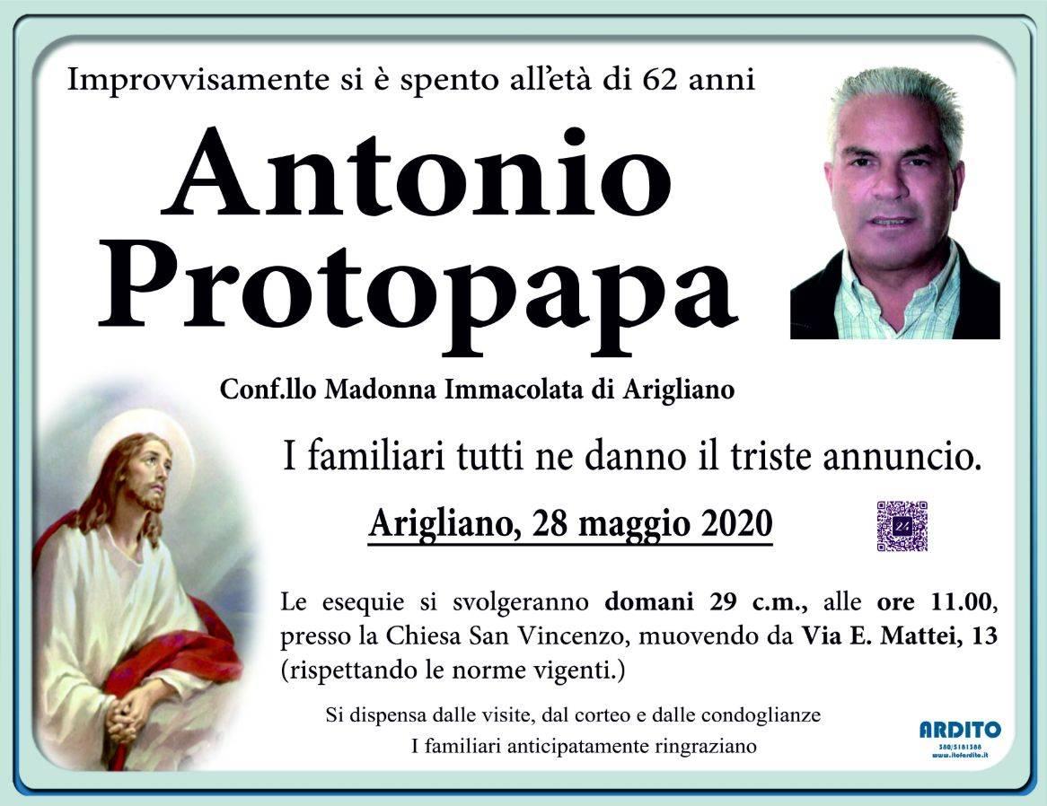 Antonio Protopapa