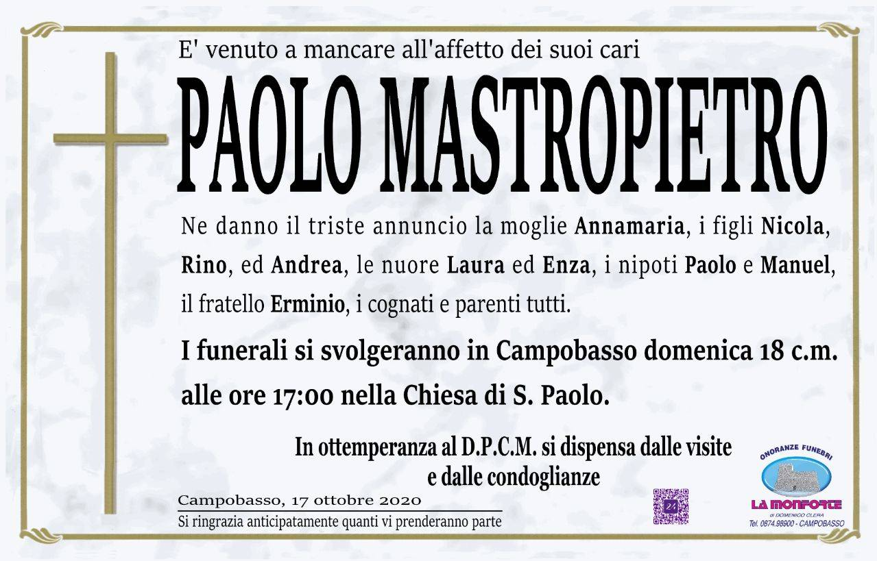 Paolo Mastropietro