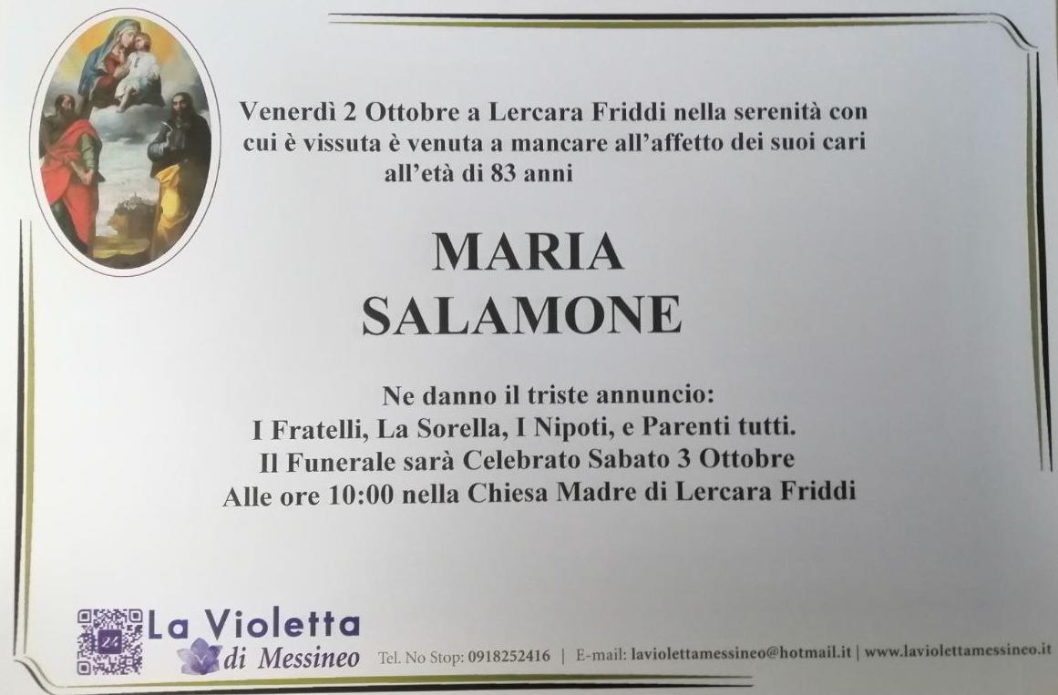 Maria Salamone