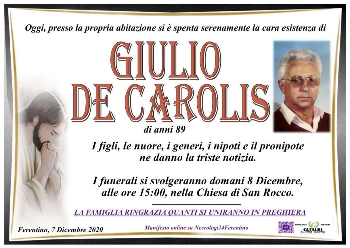 Giulio De Carolis