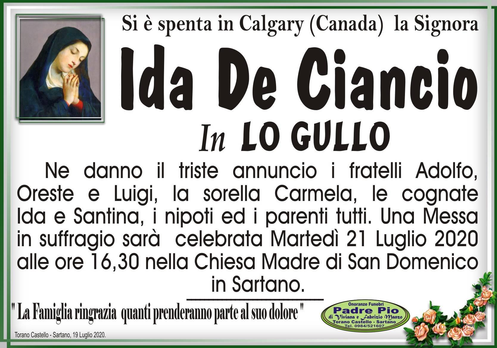 Ida De Ciancio