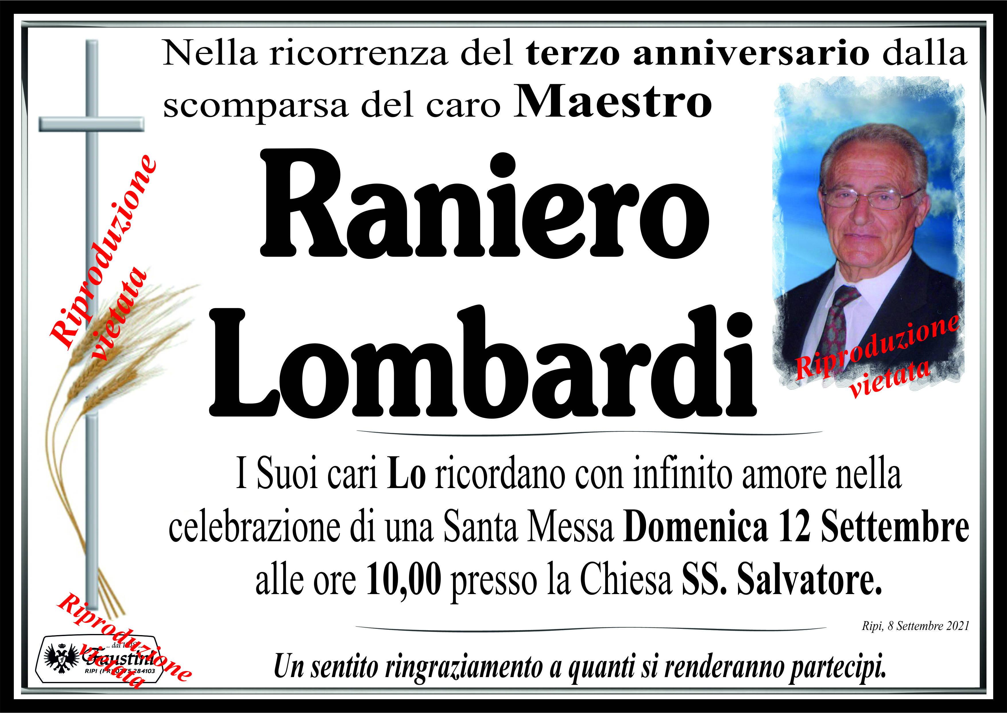 Raniero Lombardi