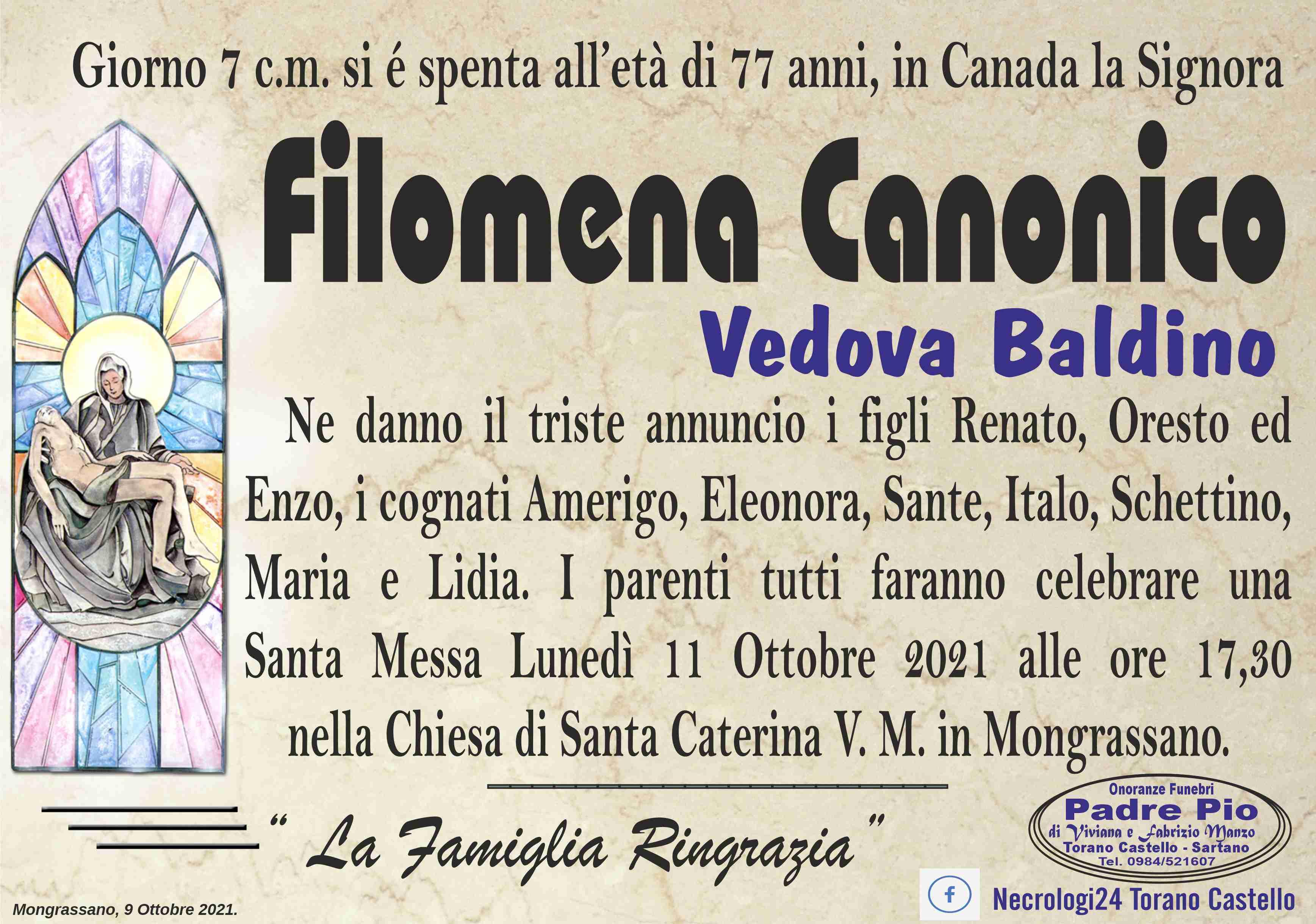 Filomena Canonico