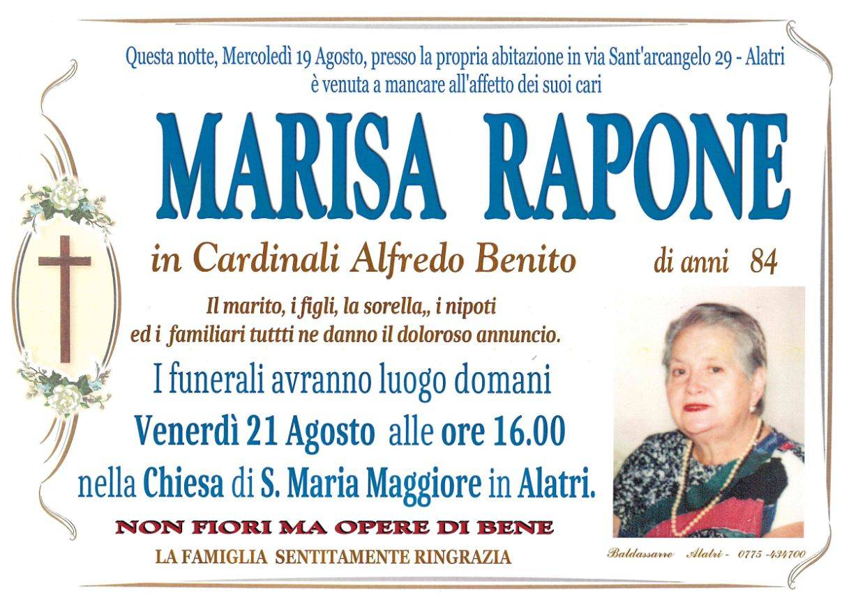 Marisa Rapone