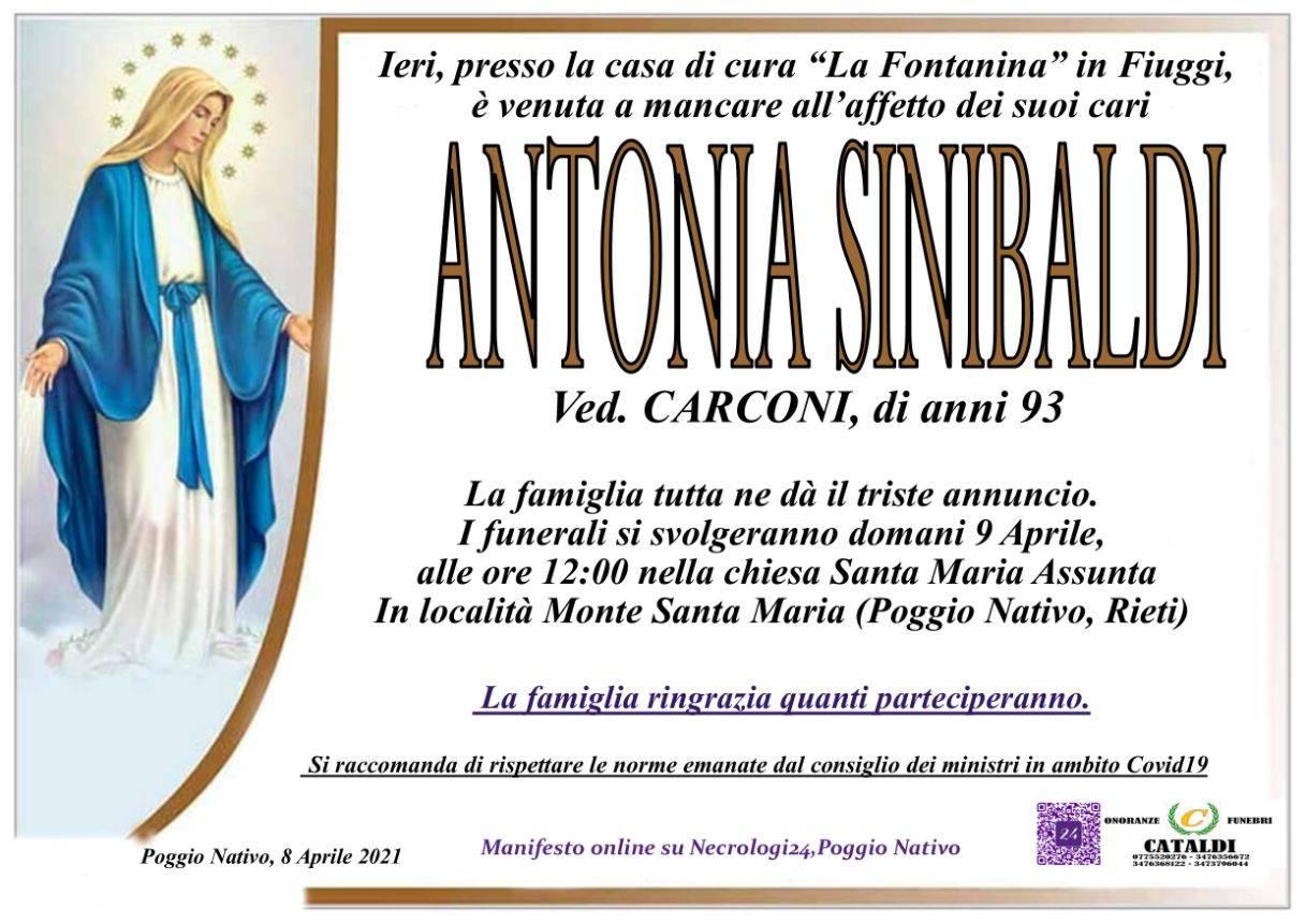 Antonia Sinibaldi