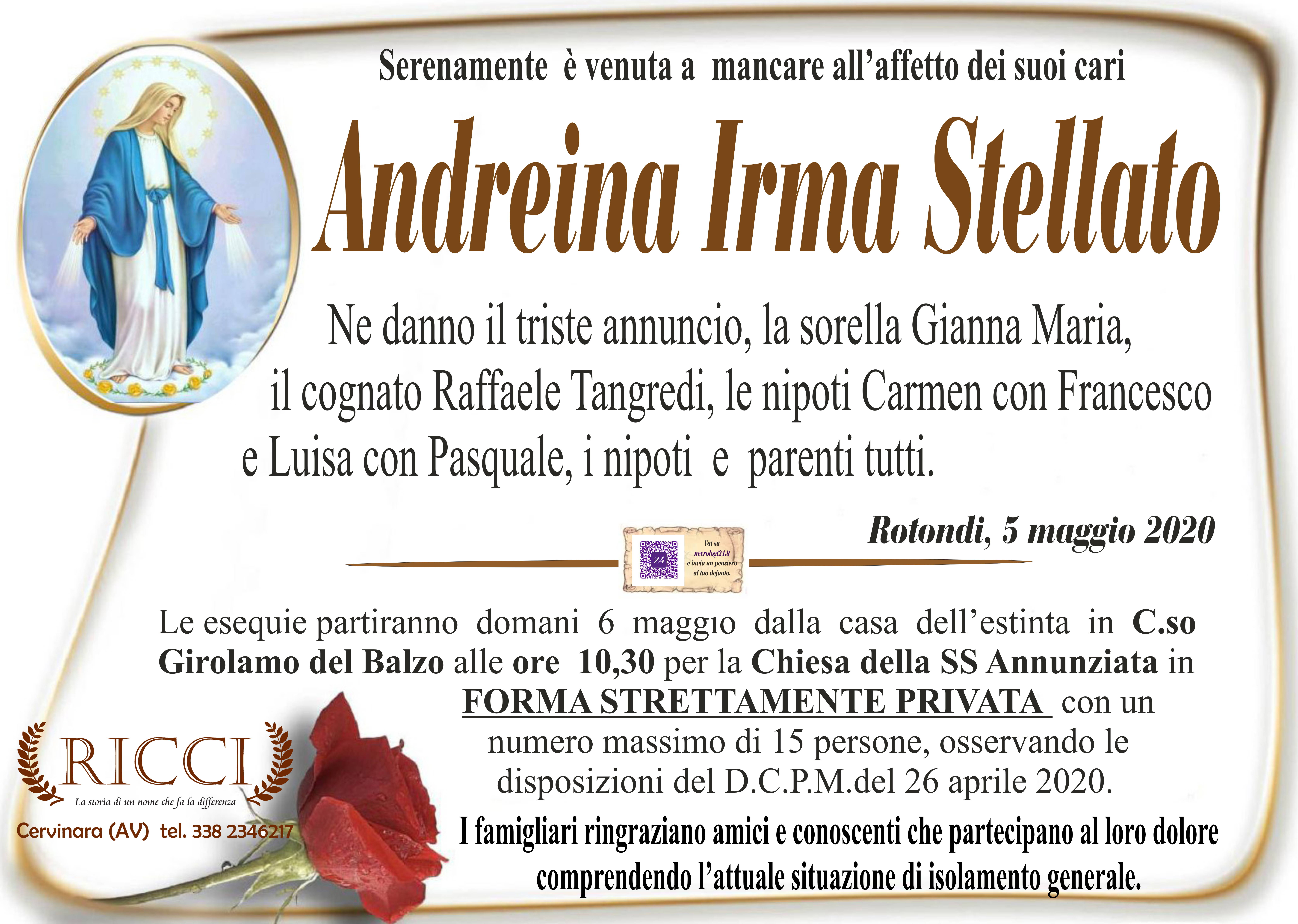 Andreina Irma Stellato