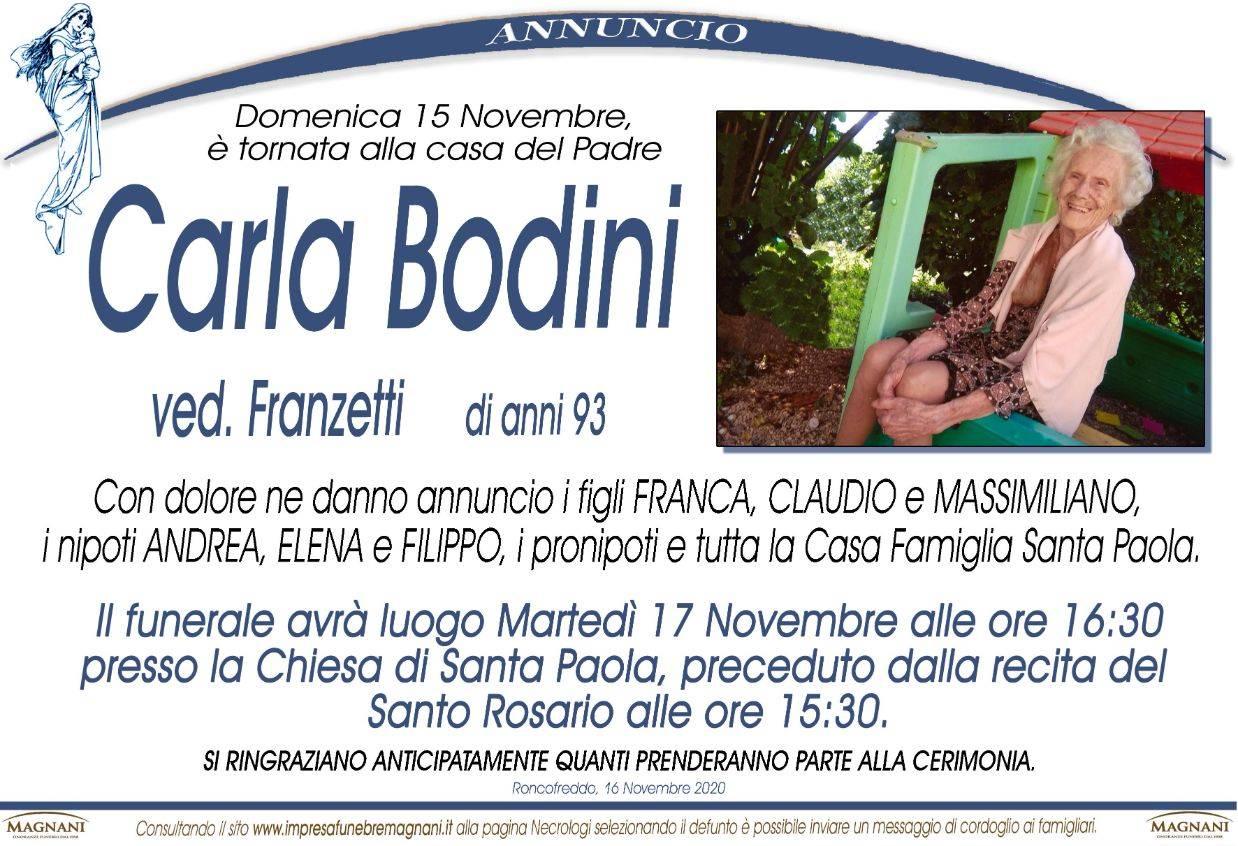 Carla Bodini