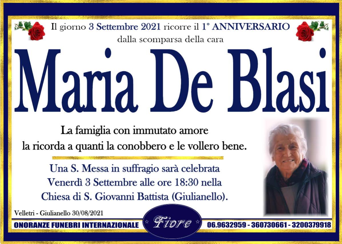 Maria De Blasi