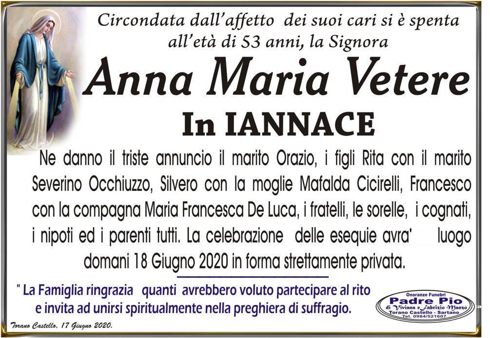 Anna Maria Vetere