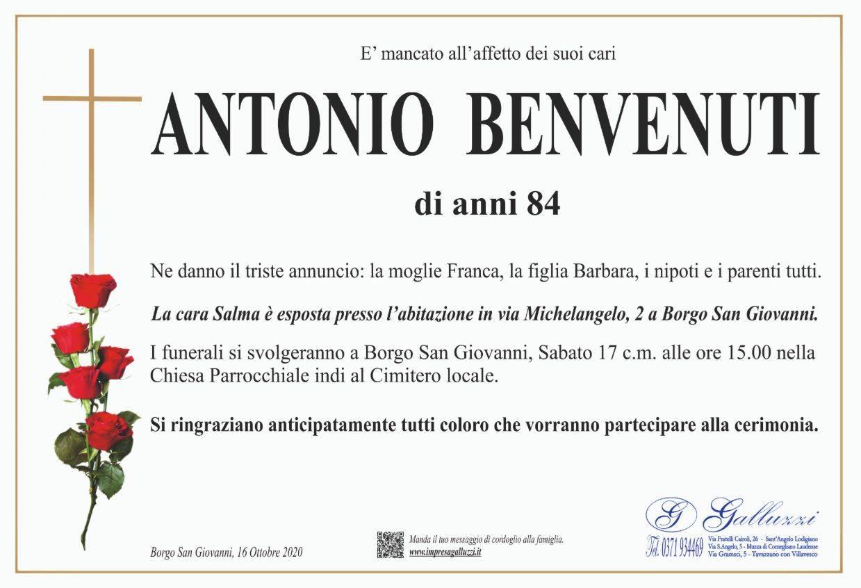 Antonio Benvenuti