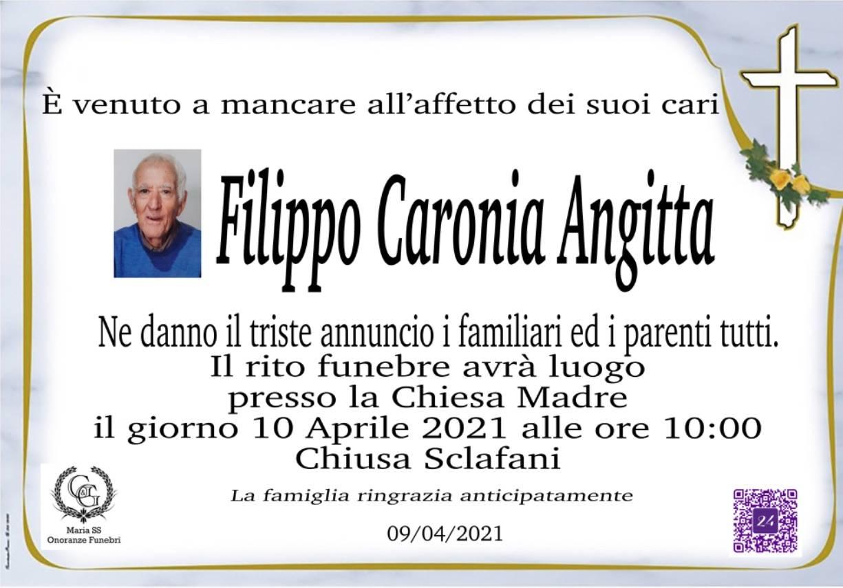 Filippo Caronia Angitta