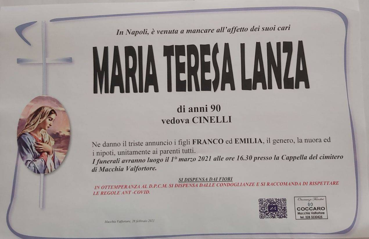 Maria Teresa Lanza