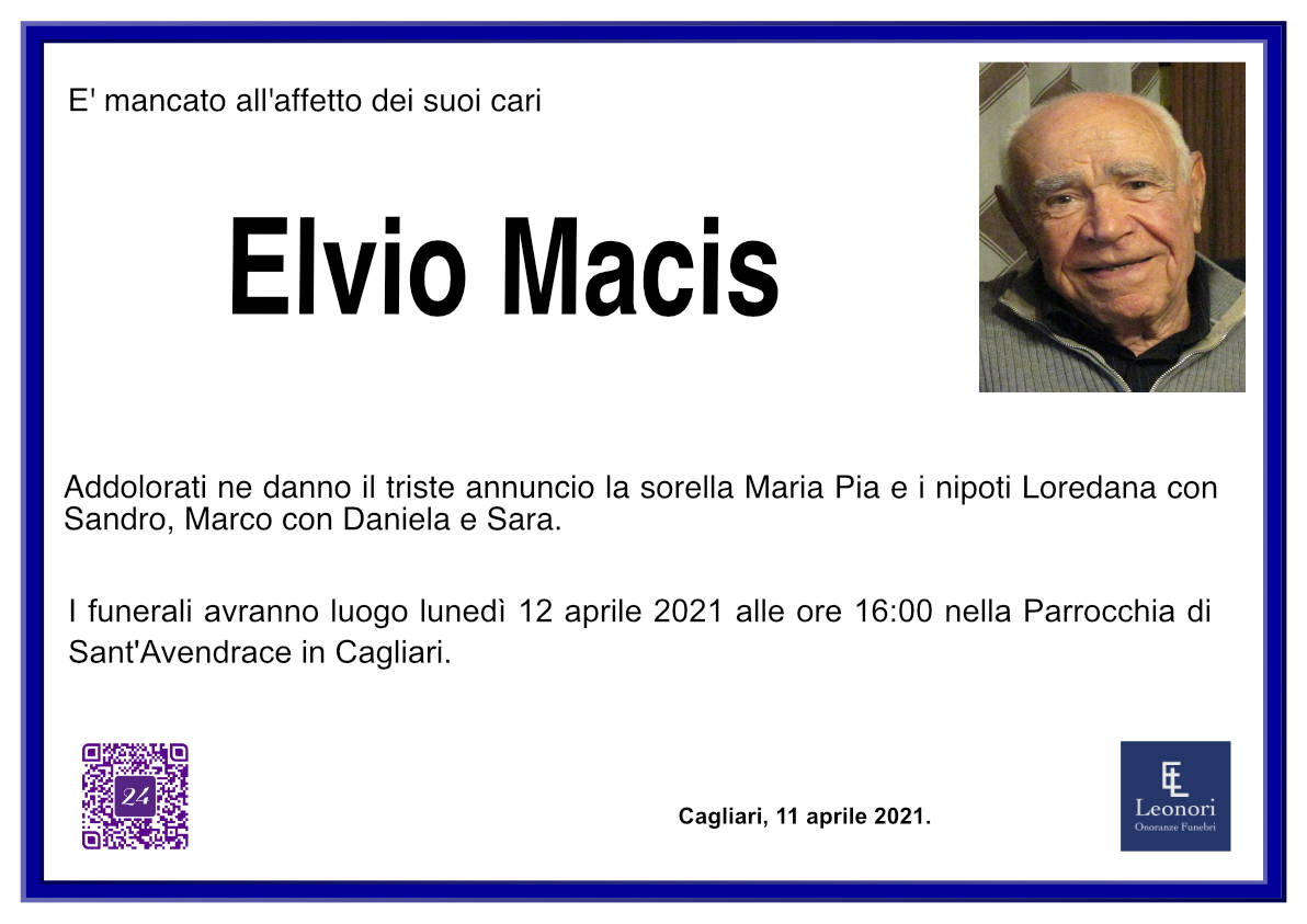 Elvio Macis