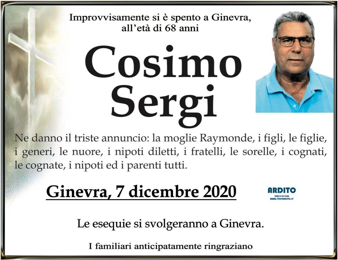 Cosimo Sergi