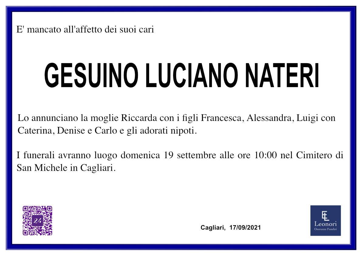 Gesuino Luciano Nateri