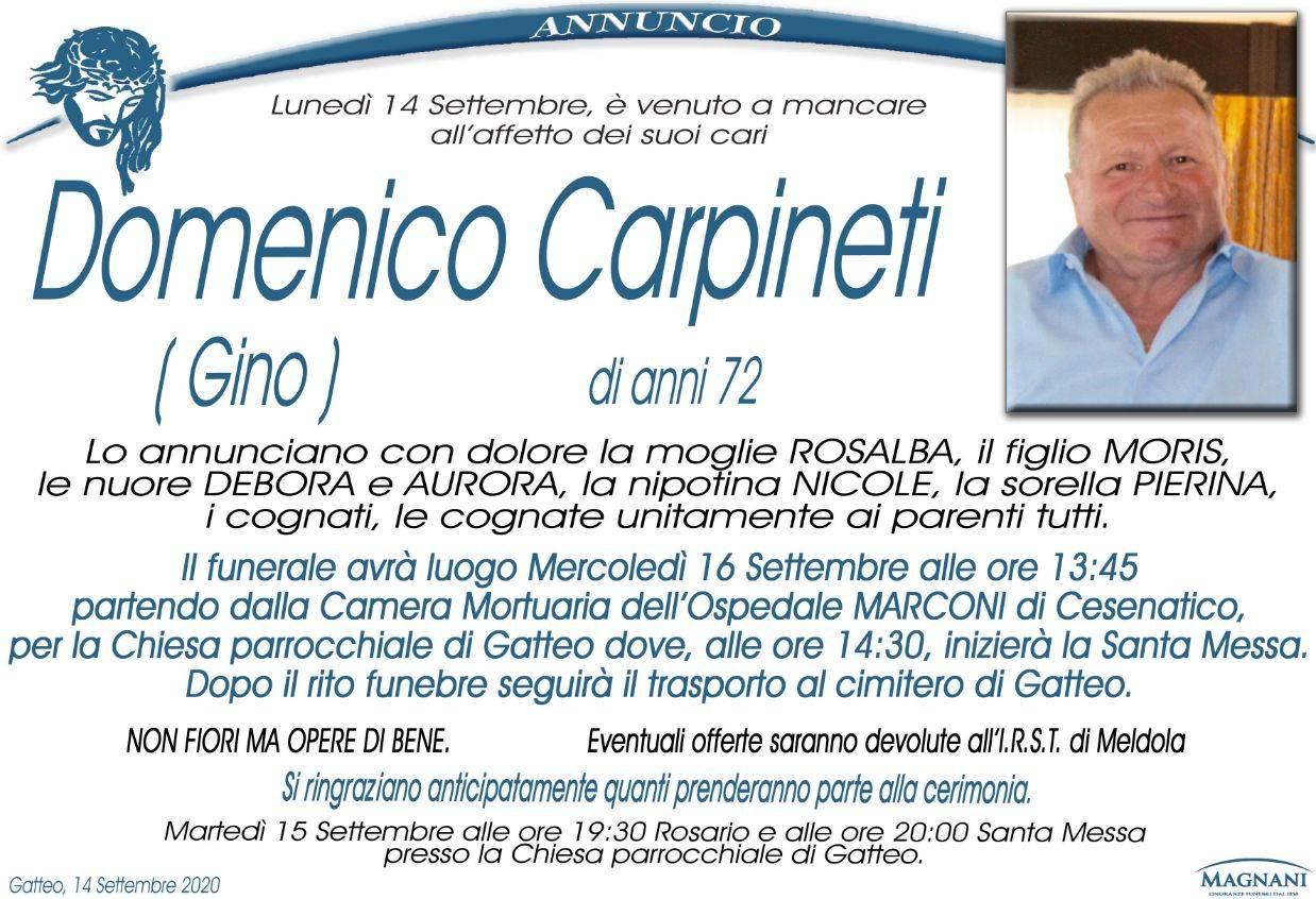 Domenico (Gino) Carpineti