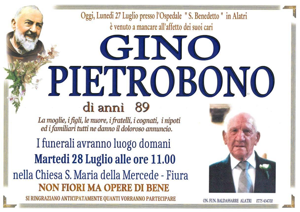 Gino Pietrobono