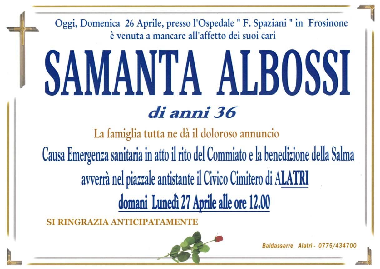 Samanta Albossi
