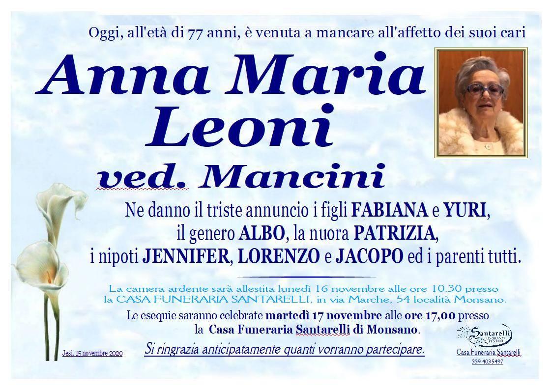 Anna Maria Leoni